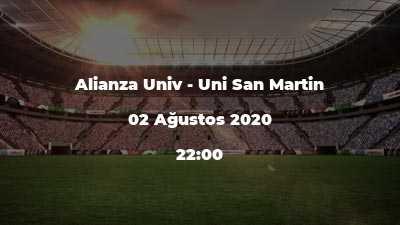 Alianza Univ - Uni San Martin