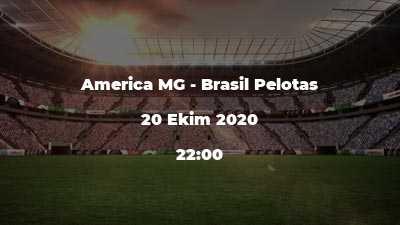 America MG - Brasil Pelotas