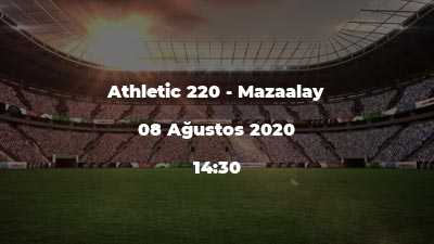 Athletic 220 - Mazaalay