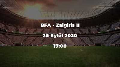 BFA - Zalgiris II