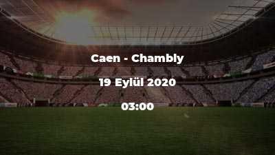 Caen - Chambly