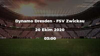 Dynamo Dresden - FSV Zwickau