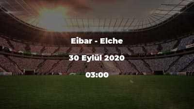 Eibar - Elche