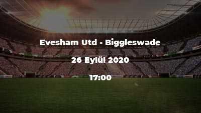 Evesham Utd - Biggleswade