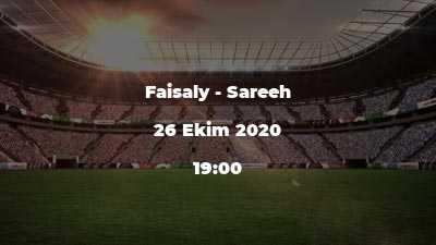 Faisaly - Sareeh