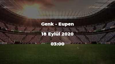 Genk - Eupen