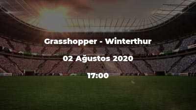 Grasshopper - Winterthur