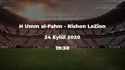 H Umm al-Fahm - Rishon LeZion
