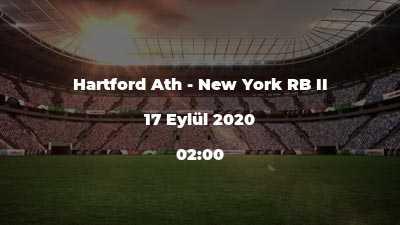 Hartford Ath - New York RB II