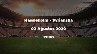 Hassleholm - Syrianska