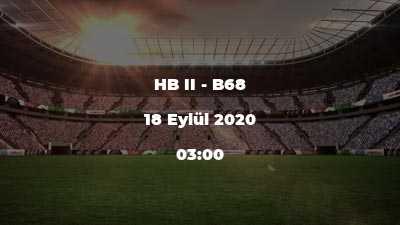 HB II - B68