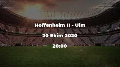Hoffenheim II - Ulm