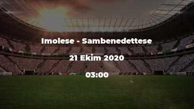 Imolese - Sambenedettese