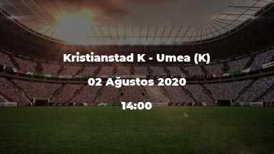Kristianstad K - Umea (K)