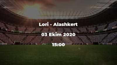 Lori - Alashkert