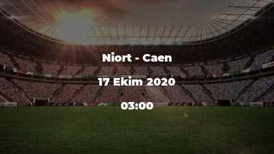 Niort - Caen