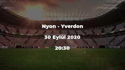 Nyon - Yverdon