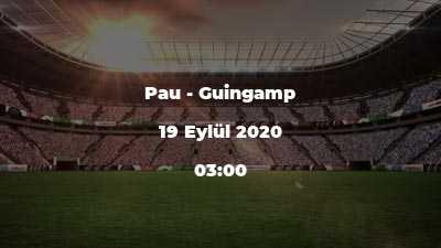 Pau - Guingamp
