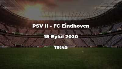 PSV II - FC Eindhoven