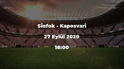 Siofok - Kaposvari