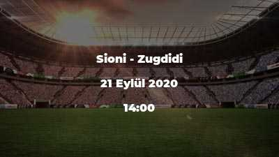 Sioni - Zugdidi