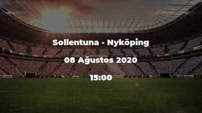 Sollentuna - Nyköping
