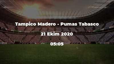 Tampico Madero - Pumas Tabasco