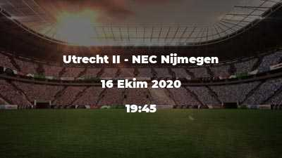 Utrecht II - NEC Nijmegen