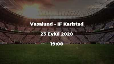 Vasalund - IF Karlstad
