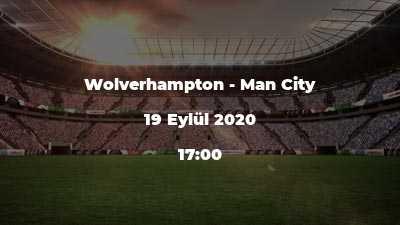 Wolverhampton - Man City