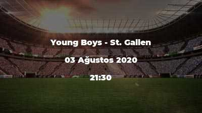 Young Boys - St. Gallen